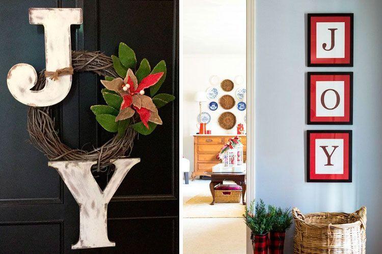 Decoración gráfica navideña para tu hogar