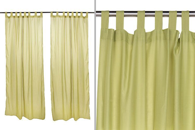 Claves para decorar con cortinas en tu hogar for Cortinas con trabillas