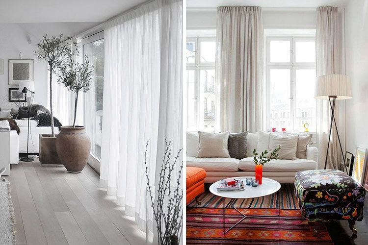 Tendencias en decoración con cortinas