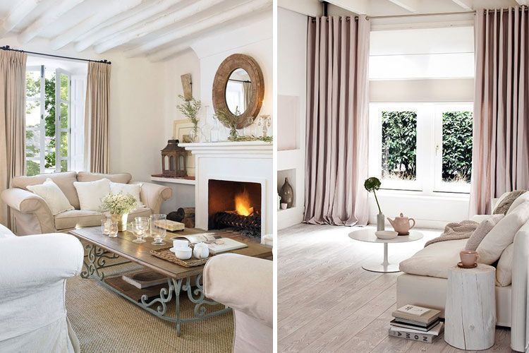 Tendencias en decoraci n de cortinas para estar a la ltima for Decoracion salones 2017