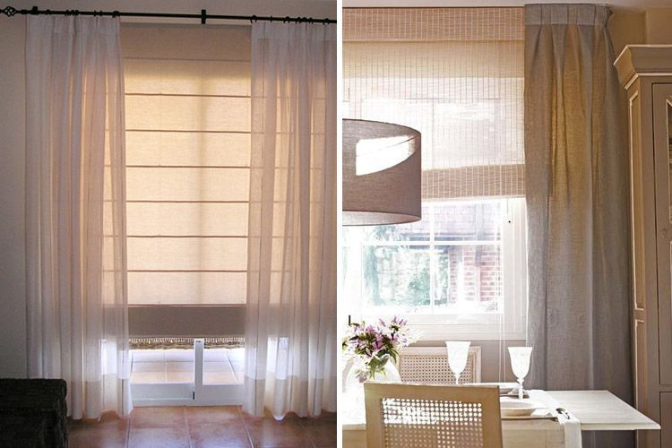 Tendencias en decoraci n de cortinas para estar a la ltima - Cortinas tipo estor ...