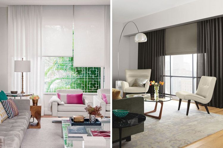 Tendencias en decoraci n de cortinas para estar a la ltima for Cortinas y estores modernos