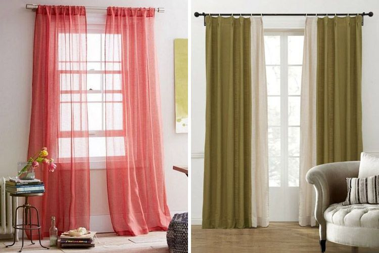 Claves para decorar con cortinas en tu hogar for Cortinas tipo visillo