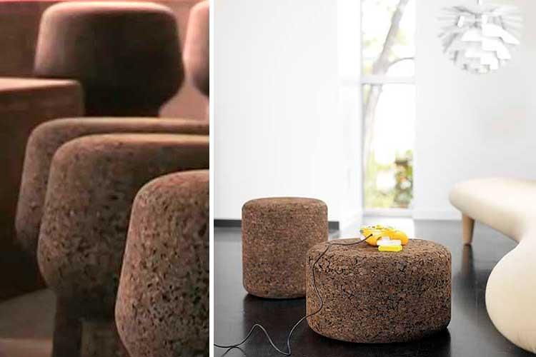 Las mil y una aplicaciones del corcho como material for Como decorar una pieza
