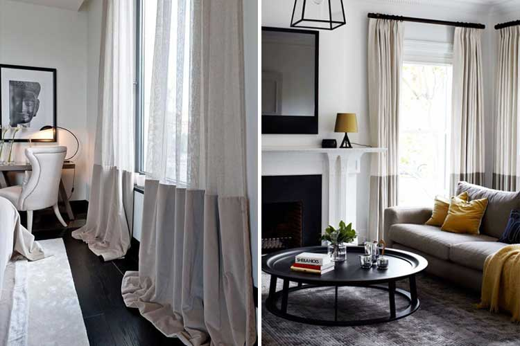 Tendencias en decoraci n de cortinas para estar a la ltima - Tendencias cortinas 2017 ...