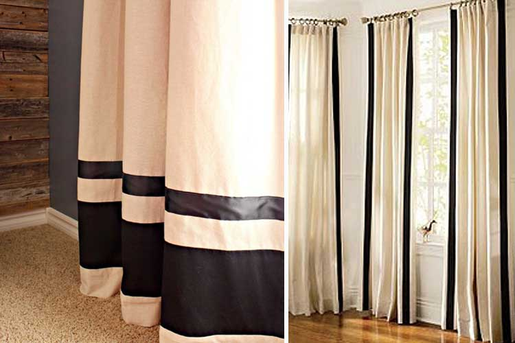 Tendencias en decoraci n de cortinas para estar a la ltima for Cortinas blancas modernas