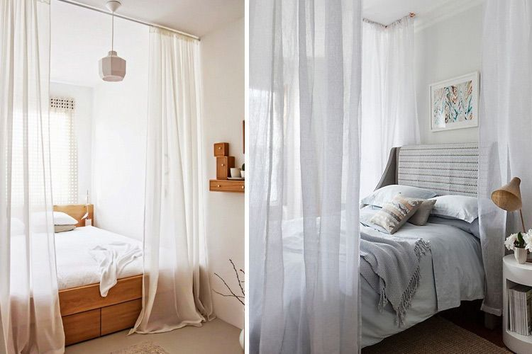 Usos alternativos de cortinas