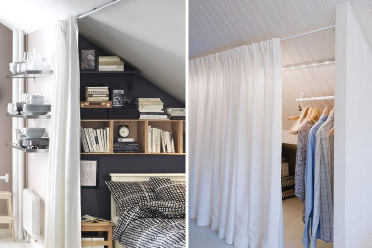 Usos alternativos de cortinas