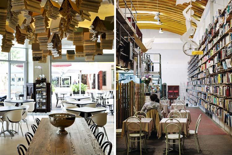 Dise o y decoraci n de cafeter as con librer a - Decoracion de cafeterias ...