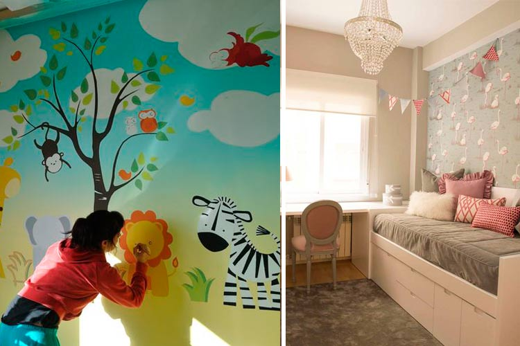 Decoración infantil con animales