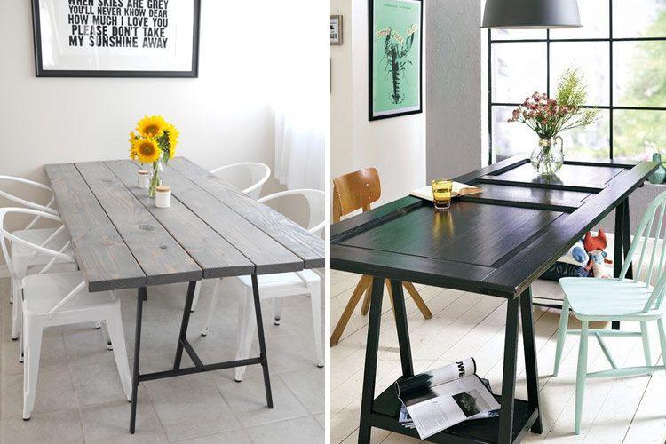 Tipos de mesas de comedor en la decoración