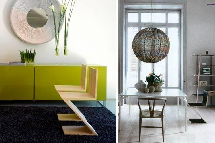 La silla Zig Zag en el diseño interior