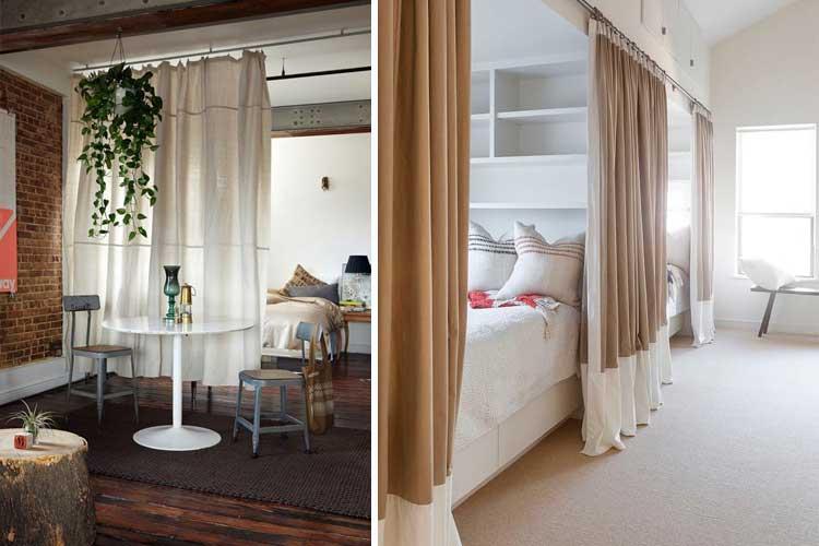 Usos alternativos para las cortinas