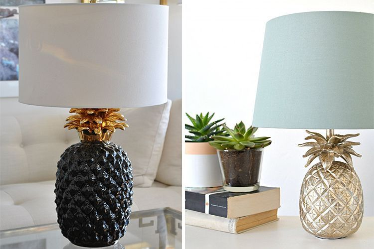 ideas para decorar con piñas