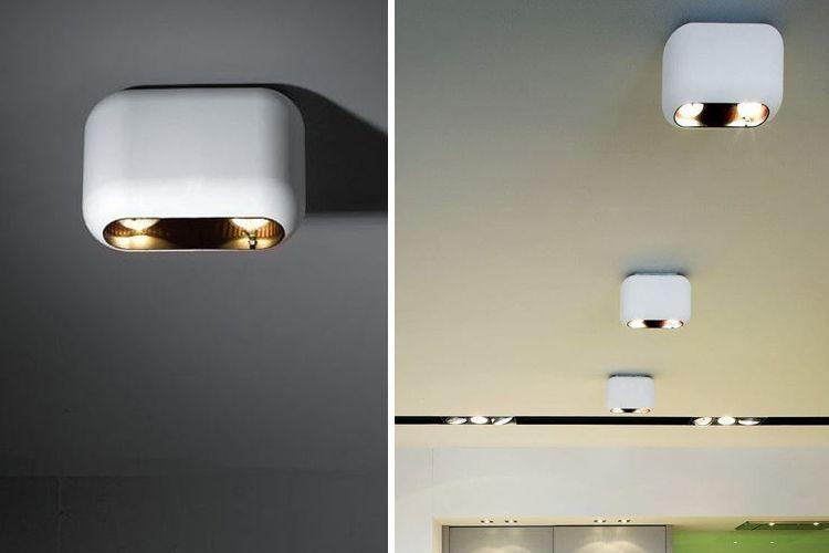 Yüzey spot ışıkları ile aydınlatma