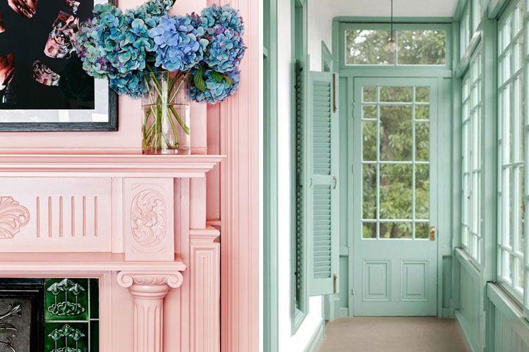 Tipos de pintura para paredes y otros elementos decorativos