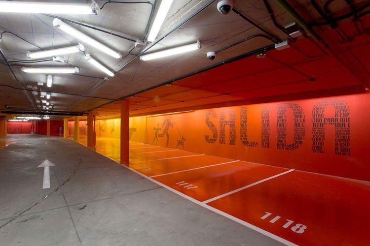 Tipos de pintura para paredes y otros elementos decorativos - Pintura para parking ...