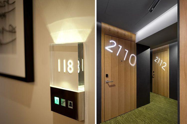 Pasillos de hotel conjugando dise o y funcionalidad - Lo ultimo en puertas de interior ...