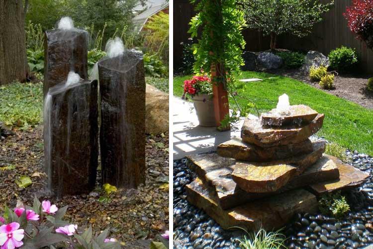Fuentes rusticas de jardin latest amazing cheap jardin for Fuentes de jardin