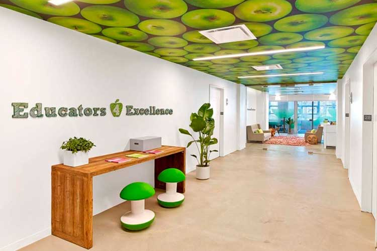 Oficinas de diseño creativo: Educators 4 Excellence