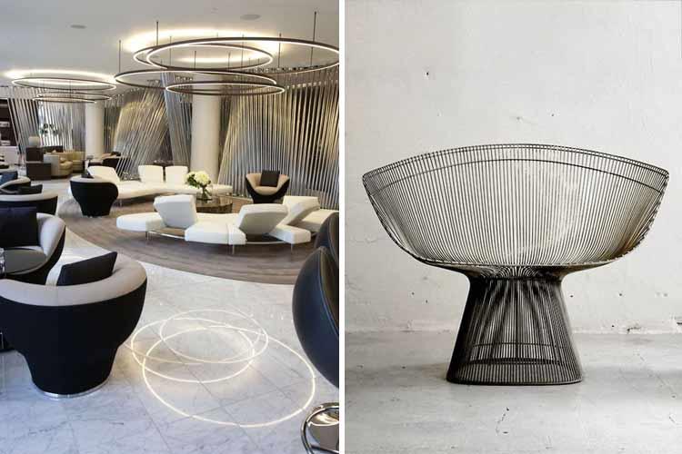 La curva en la decoración de interiores