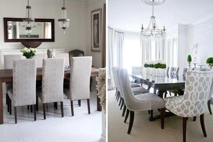 Tipos de sillas de comedor para todos los gustos Comedores altos modernos