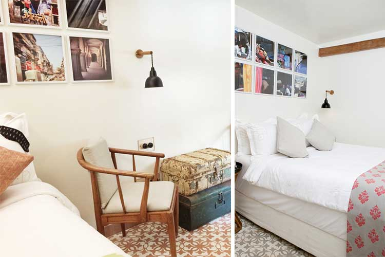 dormitorios de hotel acogedores