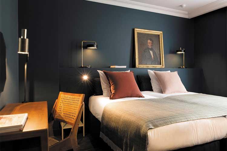 habitaciones de hotel masculina