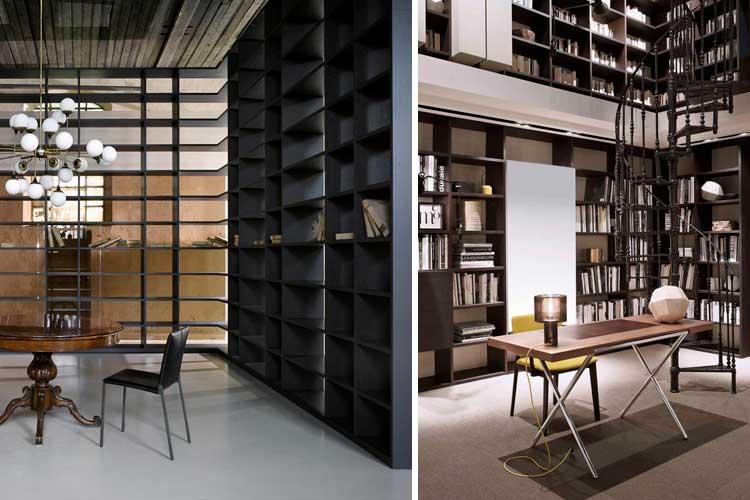 Librerías como separador de espacios