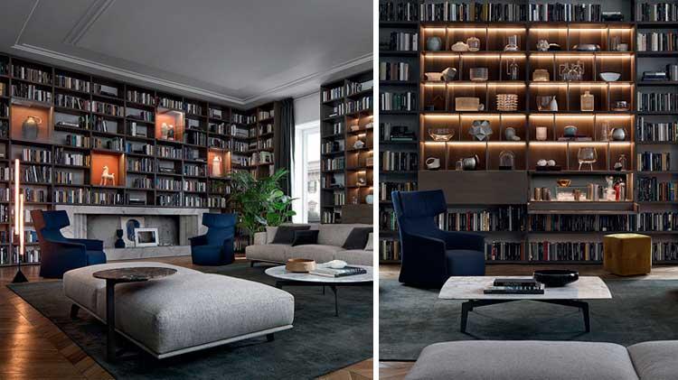 Gran librería acogiendo el salón