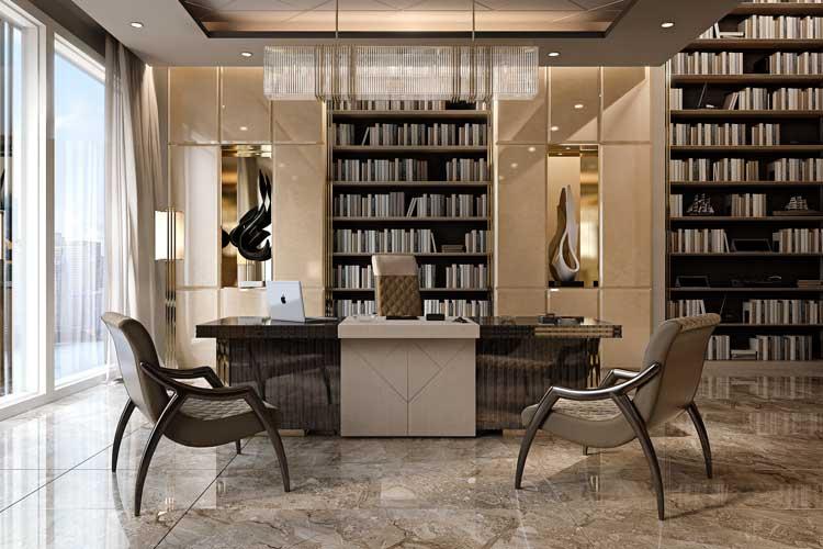 Librerías altas de salón