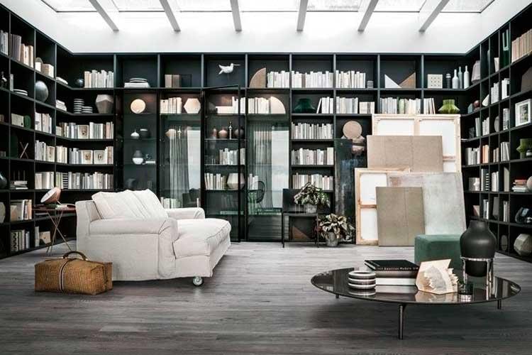 Librería acogiendo el salón con aperturas transitorias