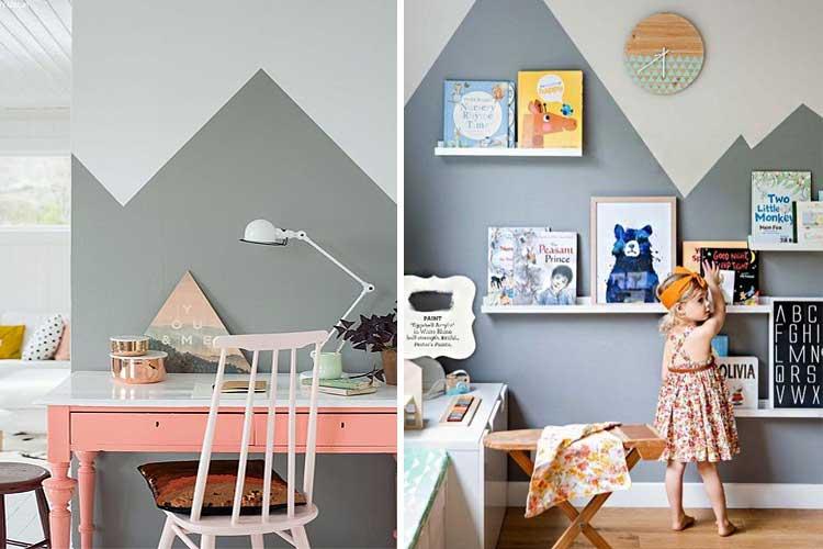 Trucos para pintar espacios pequeños