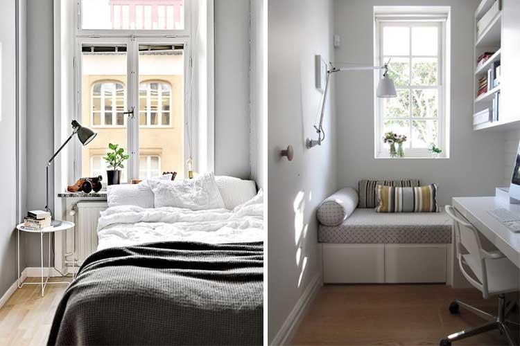 Trucos para pintar pisos pequeños