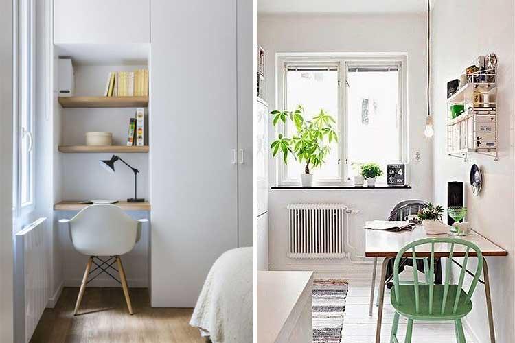 Pintura para espacios pequeños