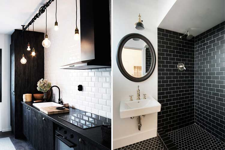 Tendencias en decoraci n 2018 el color negro aplicado a - Tendencias cocinas 2018 ...