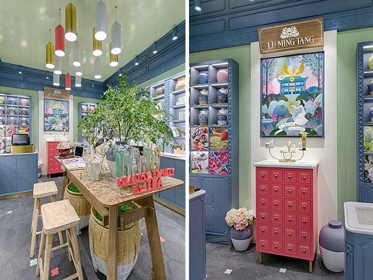 Tienda de cosméticos Lu Ming Tnag