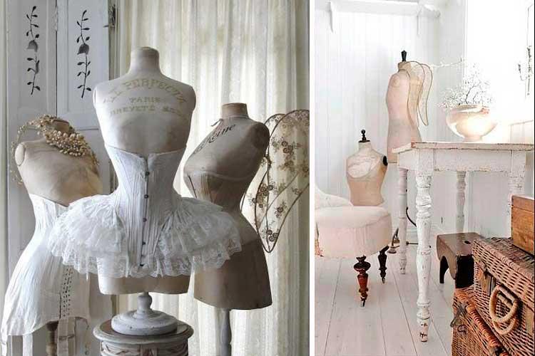Ideas de decoración con bustos maniquí