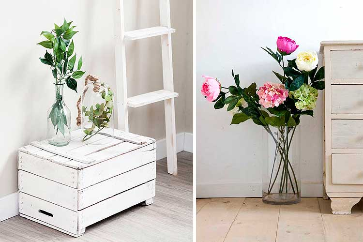 Cómo decorar con flores artificiales