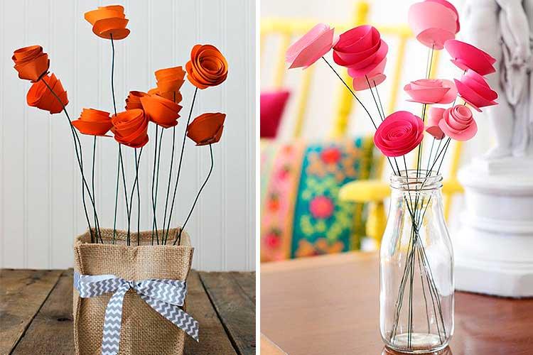 Cómo decorar con flores artificiales