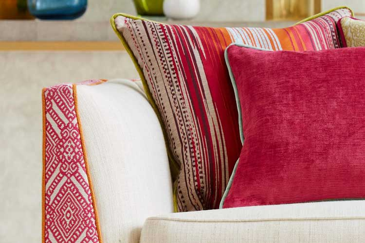 Ideas para decorar tapizados con ribete