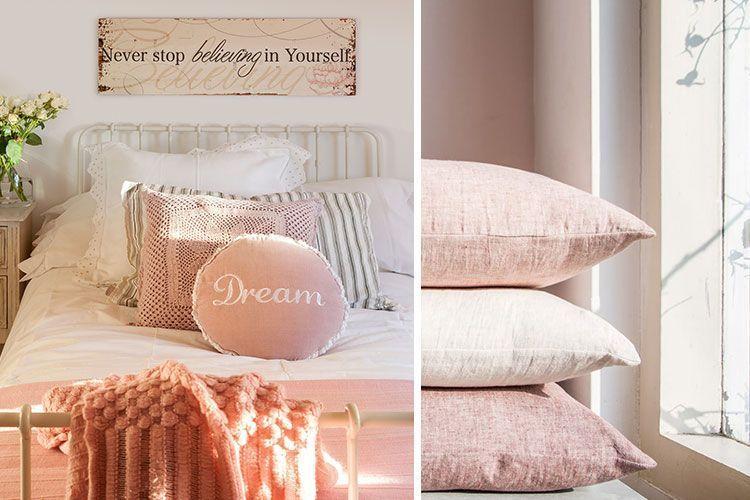 Dormitorios en rosa palo