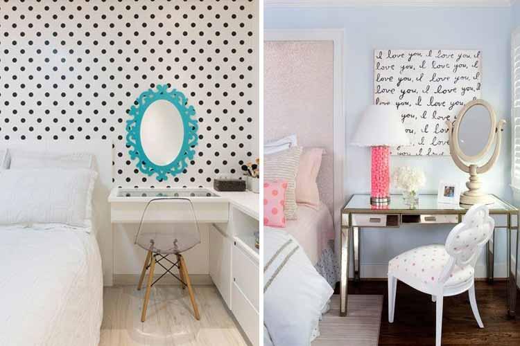 Dekorasyon için tasarımcı tuvalet masaları