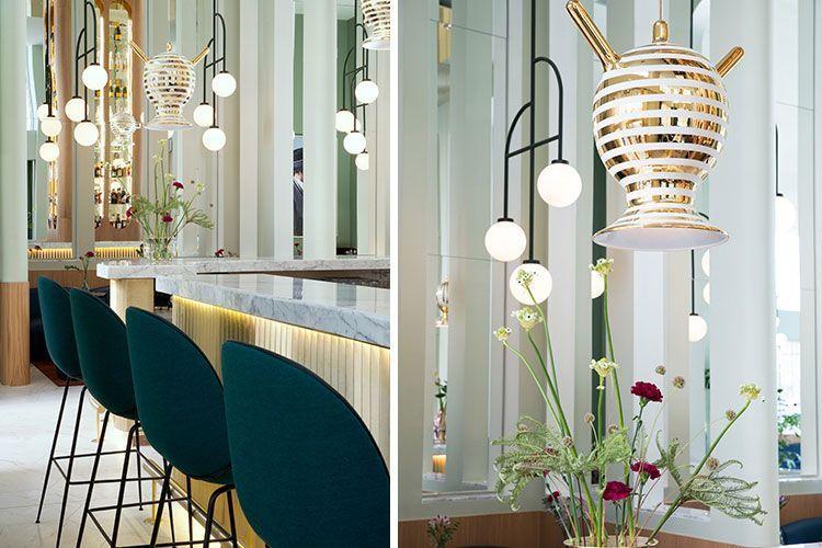 Tendencias en diseño de interiores: el dorado