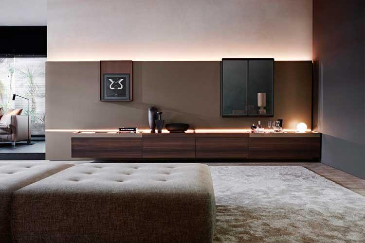 Muebles modulares para la decoración de paredes