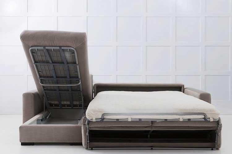 Sofá cama con chaise longue