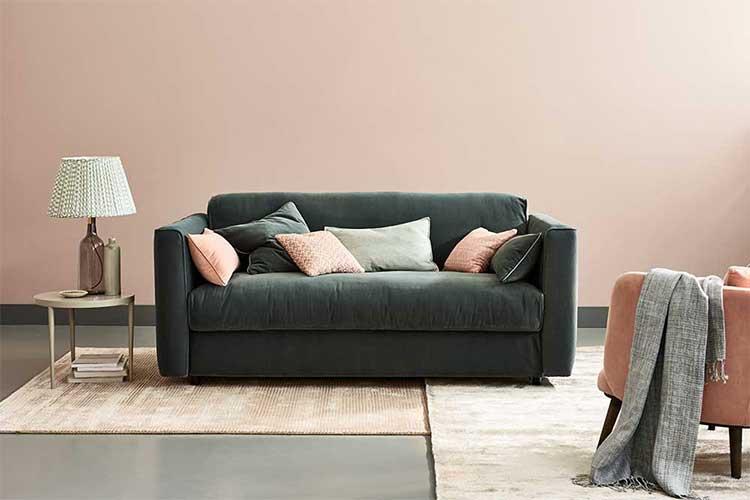 Sofá cama con apertura italiana