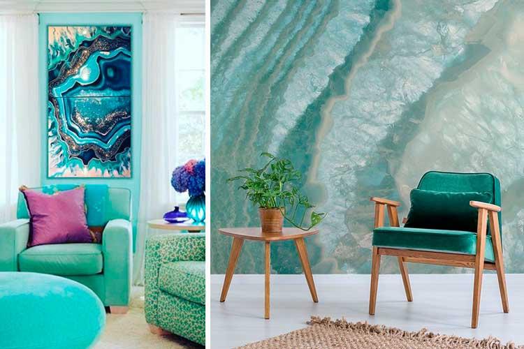 Tendencias 2019 - Cómo decorar con gemas y minerales