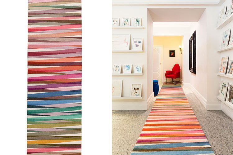 El color en la decoración con alfombras