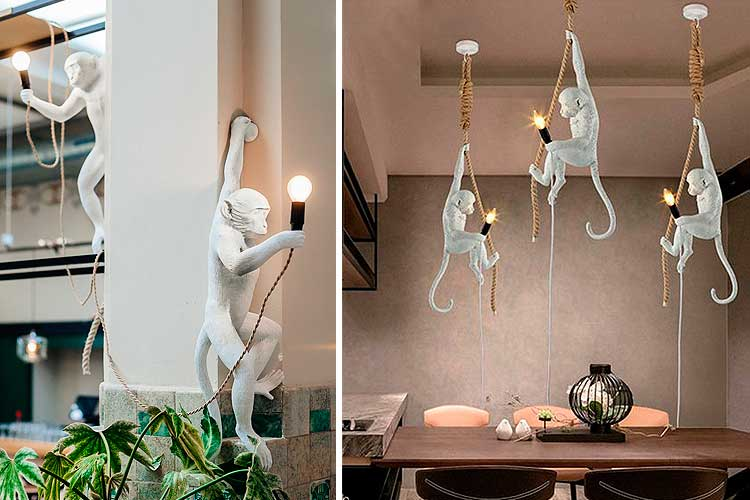 Ideas para decorar con monos